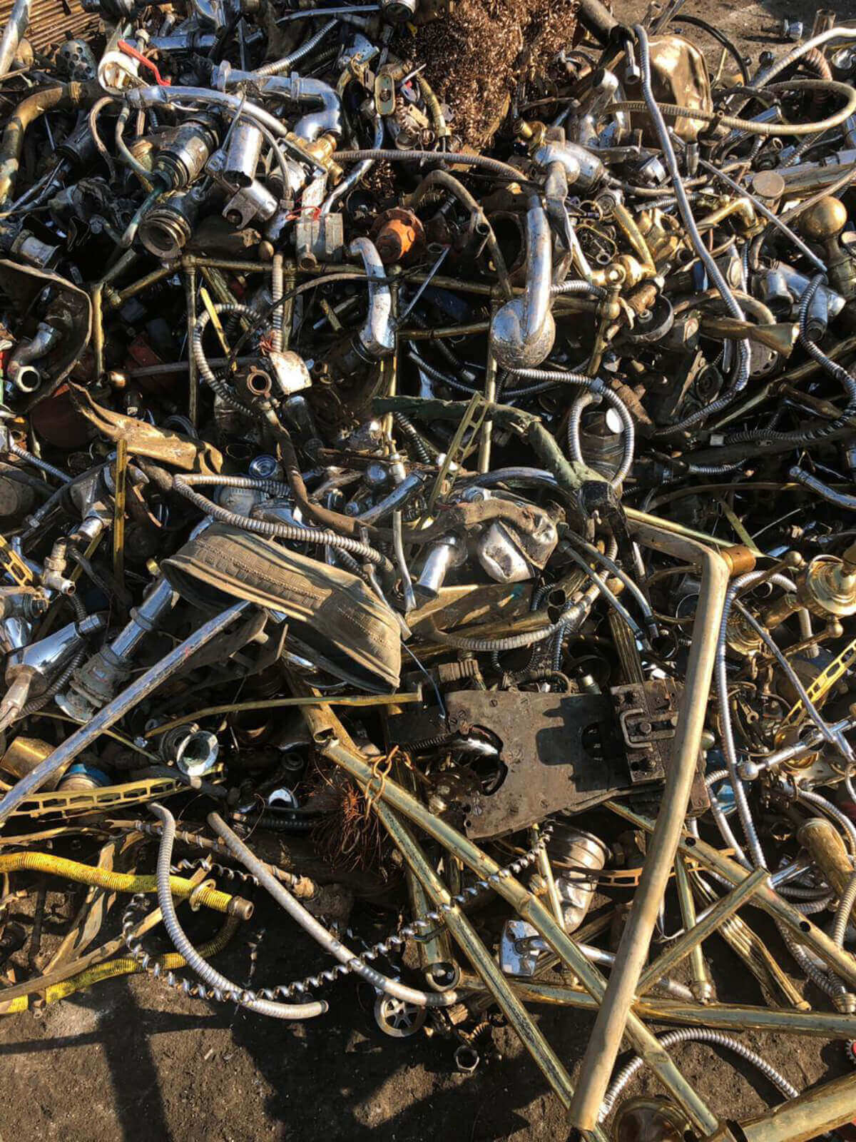 Brass Scrap  environmental services