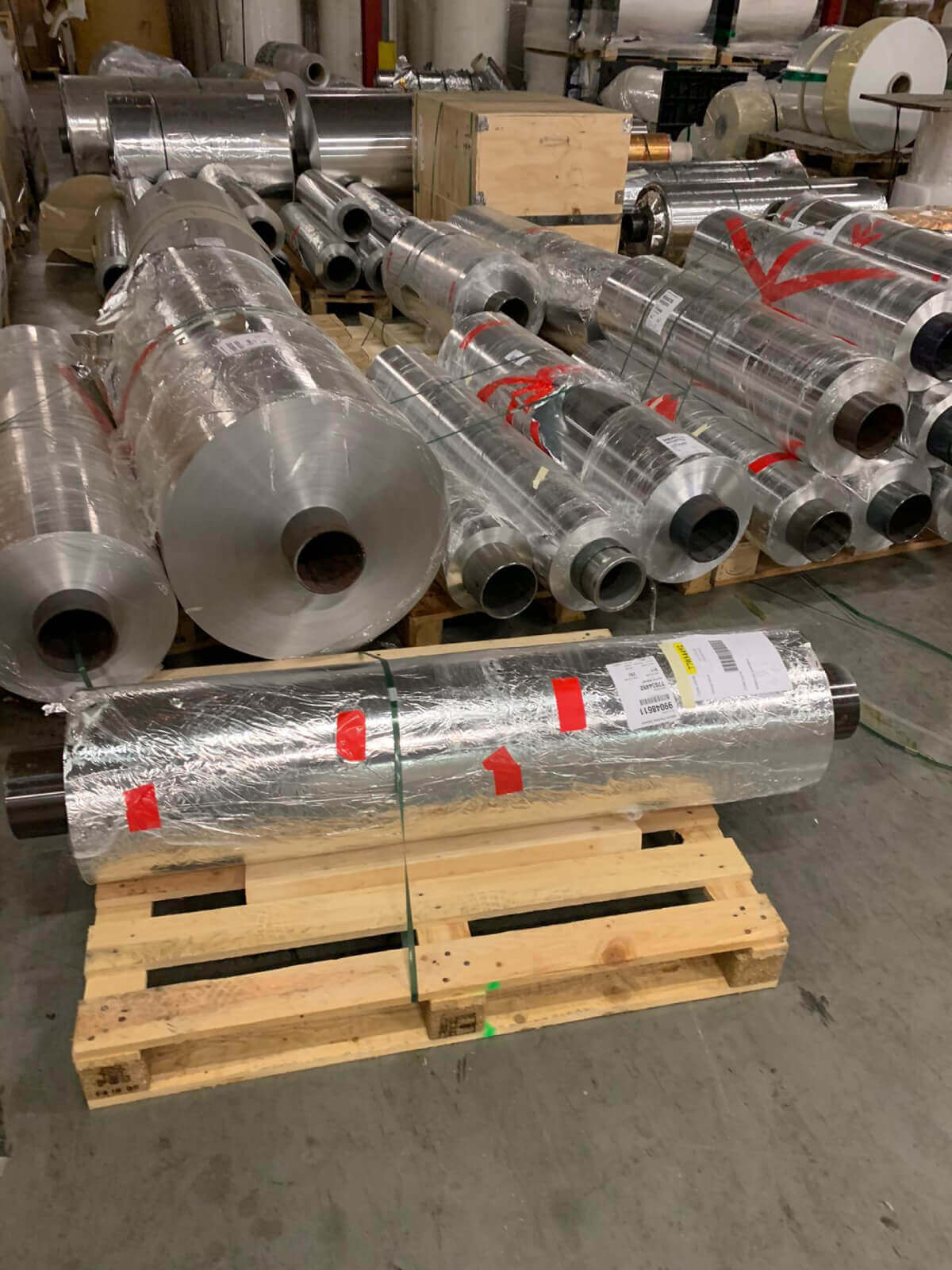 Stocklot Of Aluminium Foil In Afghanistan
