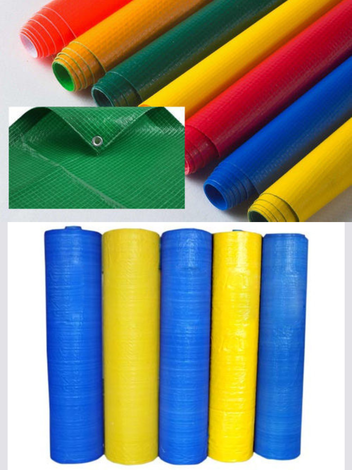 Stocklot Of HDPE Laminated Fabric