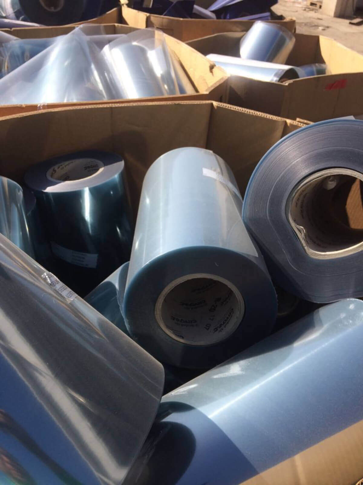 Stocklot Of Pet/PE Film  trader