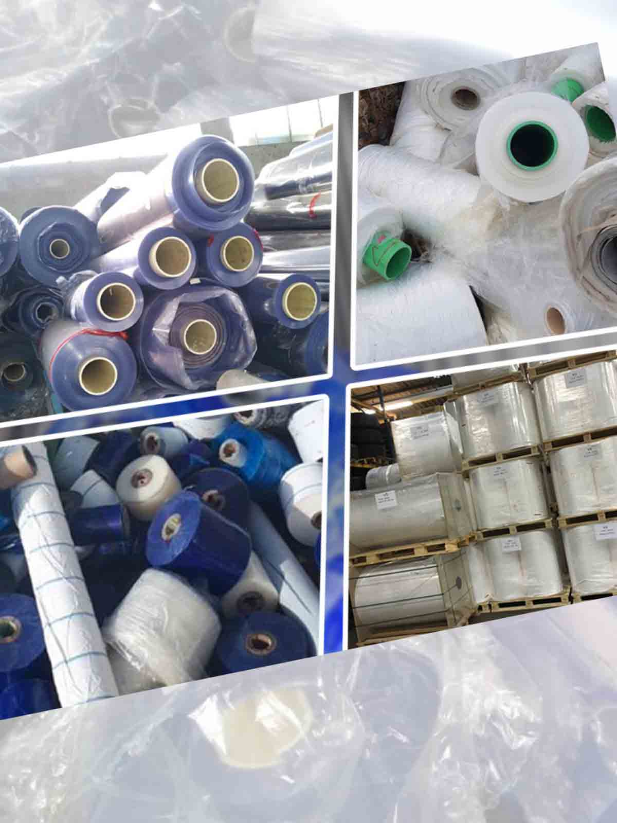 Stocklot Of Plastic Film Rolls