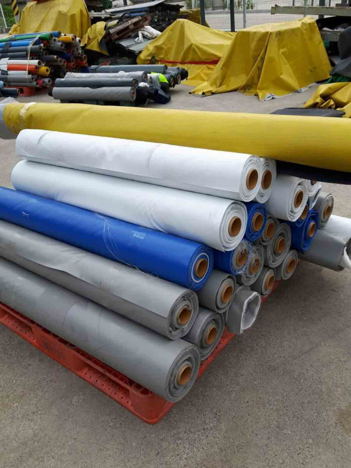 Stocklot Of PVC Coated Fabric