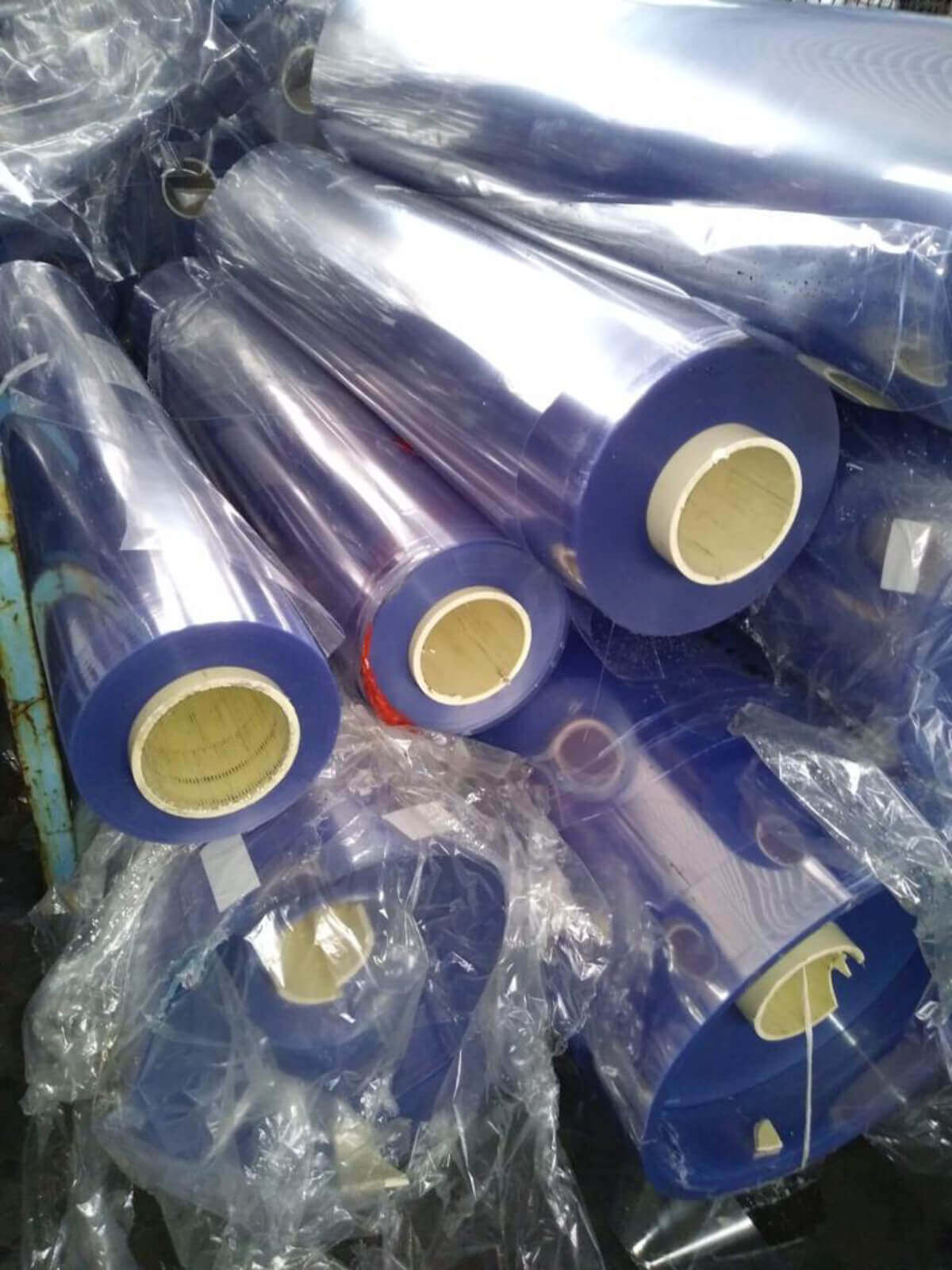 Stocklot Of PVC Film  recycling
