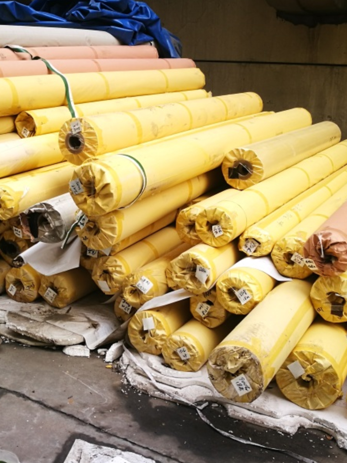 Stocklot Of Tarpaulins